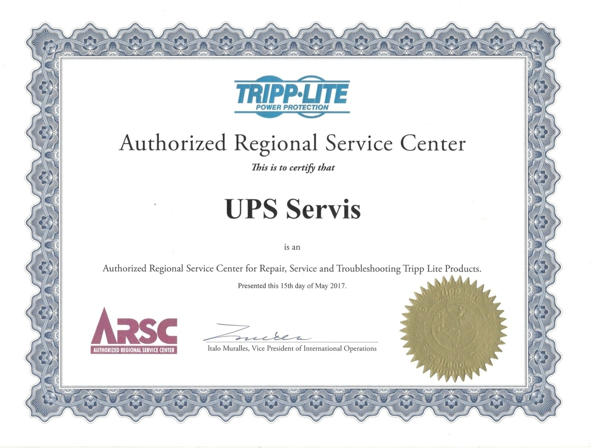 UPSS Tripp Lite Service Center